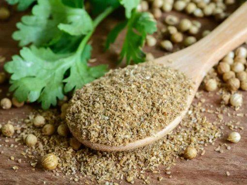 Coriander seeds | ground | low aroma
